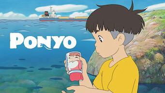 Is Ponyo 2008 On Netflix Spain